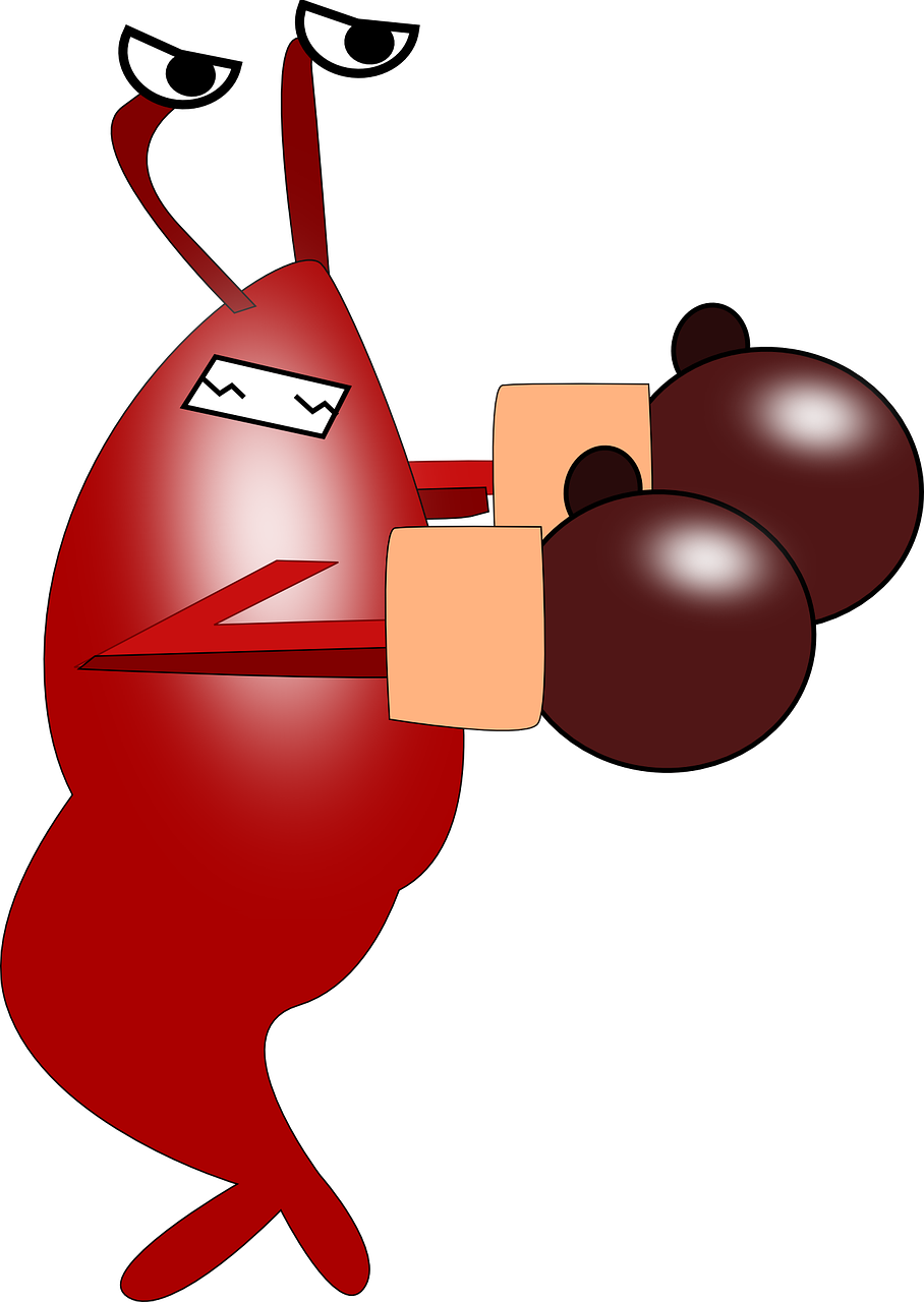 Shrimpy the hot mess. Lobster clipart dancing shrimp