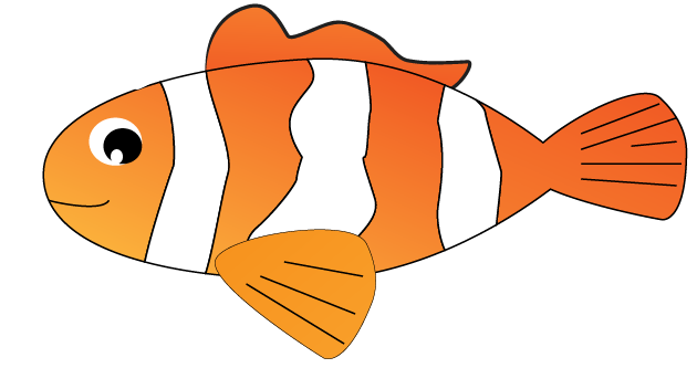 Fish clipart side view. Free graphic download clip