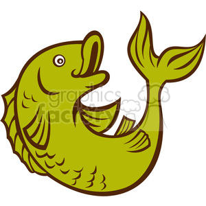 Fish clipart side view. Royalty free
