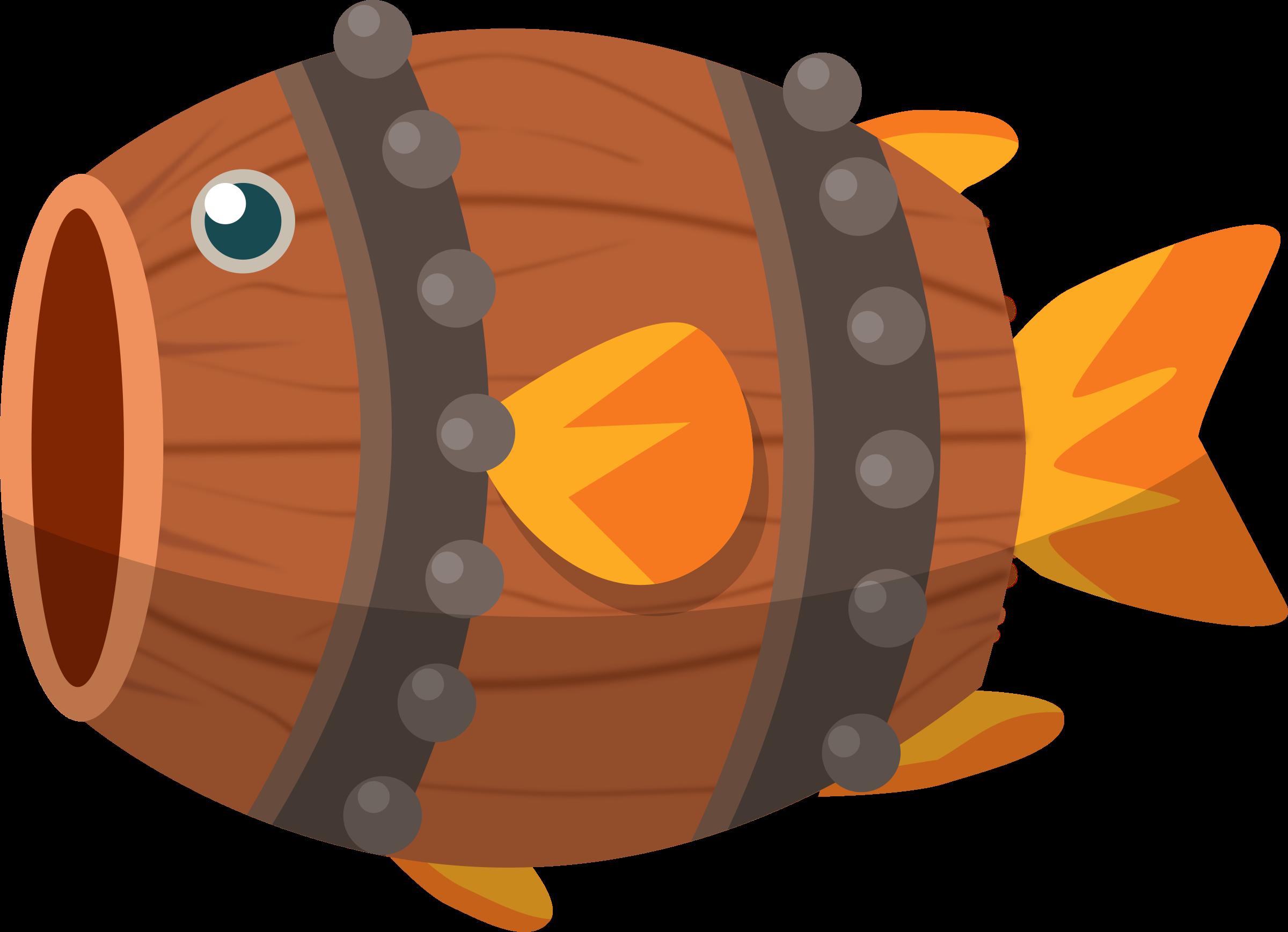 Clipart fish talk. Barrel big image png