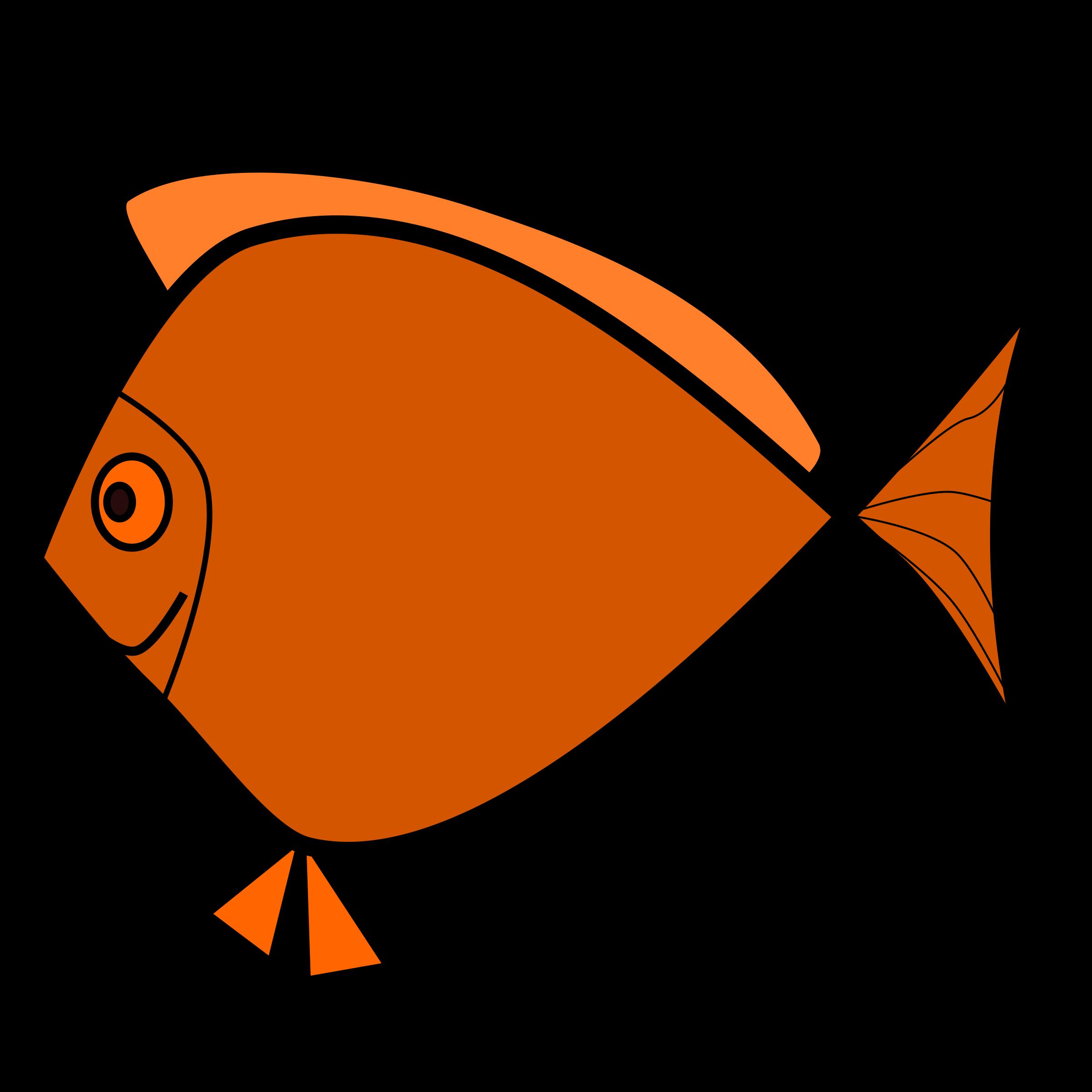 . Clipart fish talk