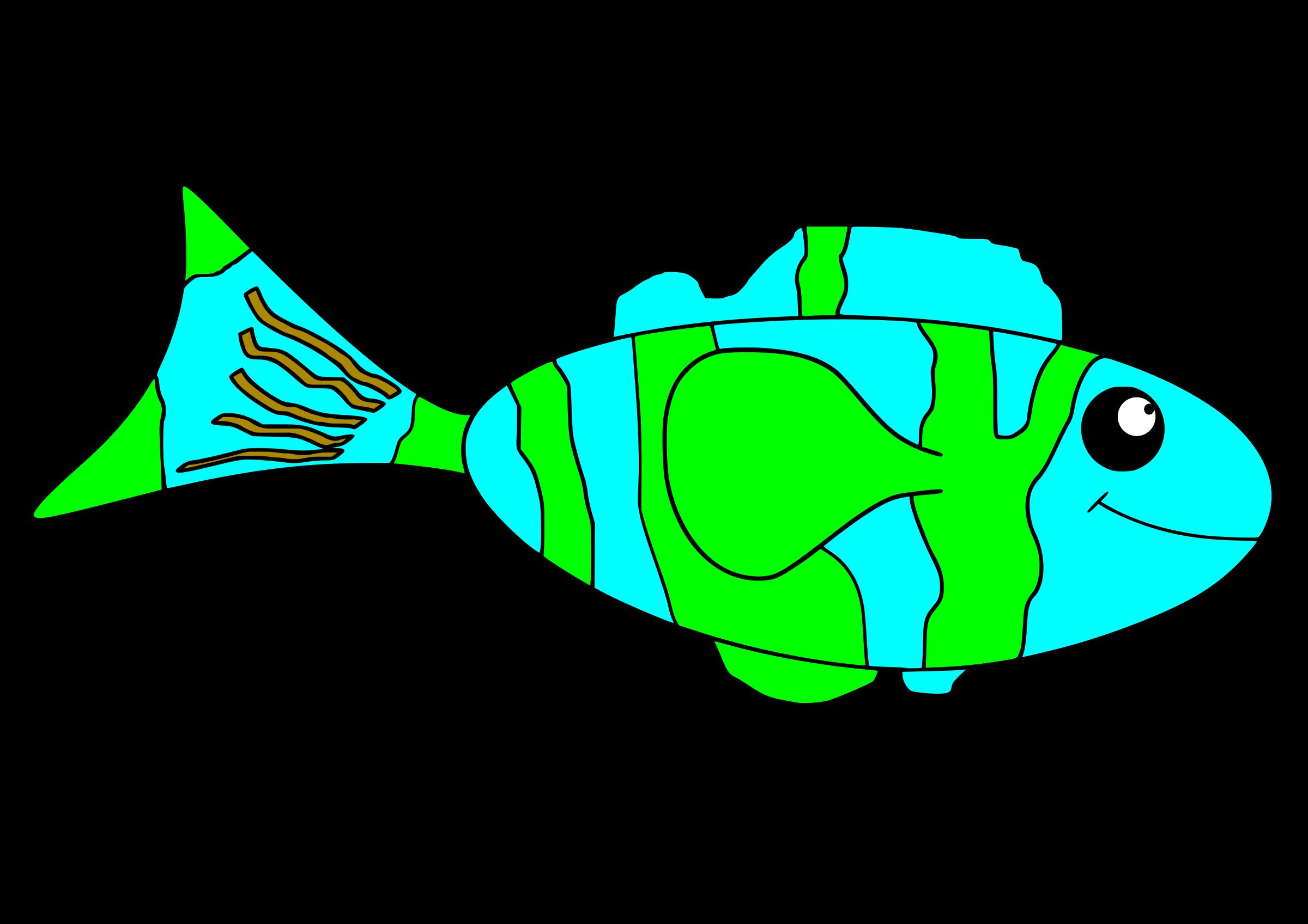 Clipart fish teal. Happy big image png