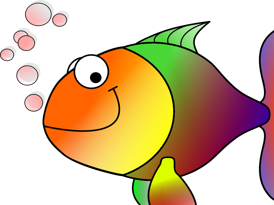 Happy being me norah. Fish clipart tired