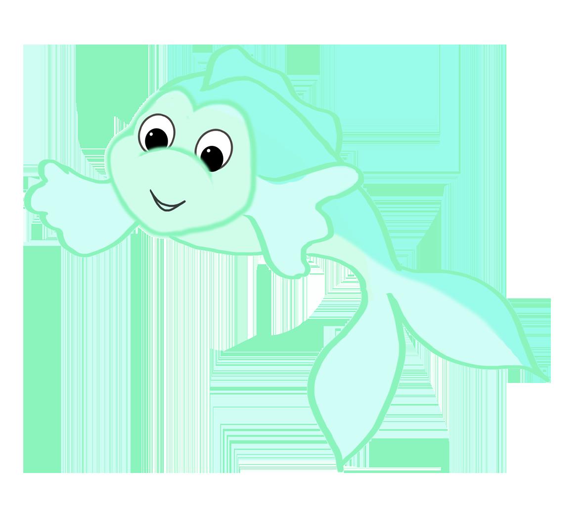 Fish clipart turtle. Clip art cute green