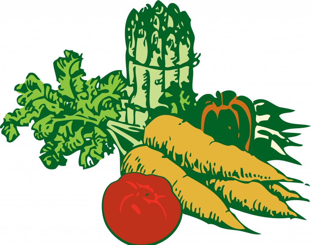 clipart fish vegetable