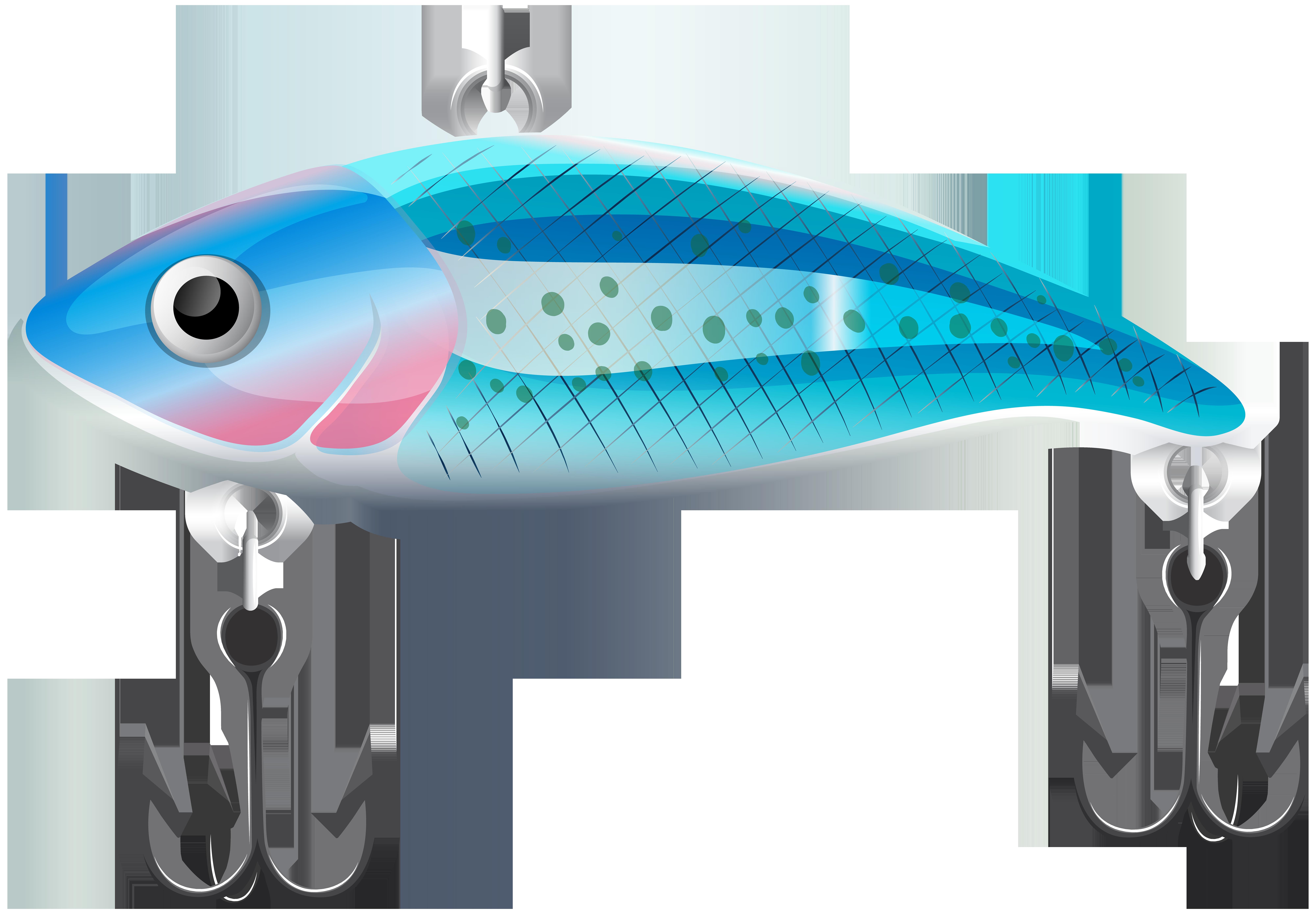Bait blue png clip. Fishing clipart fish
