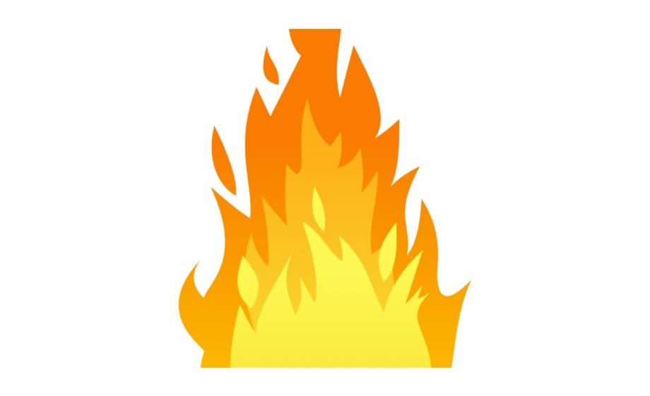 Clipart flames big fire. Torch effect transparent background