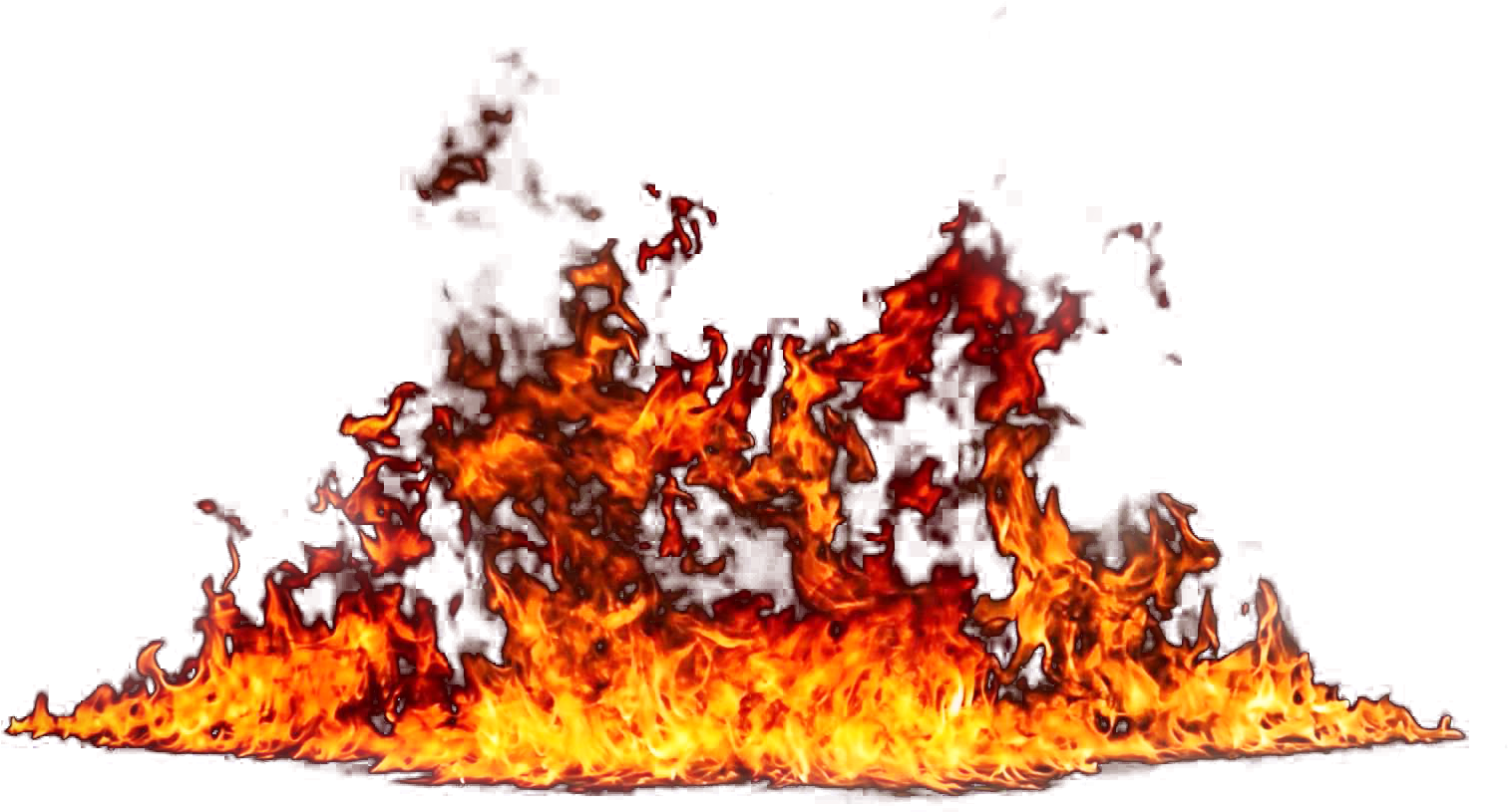 Flame tree on png. Clipart flames big fire