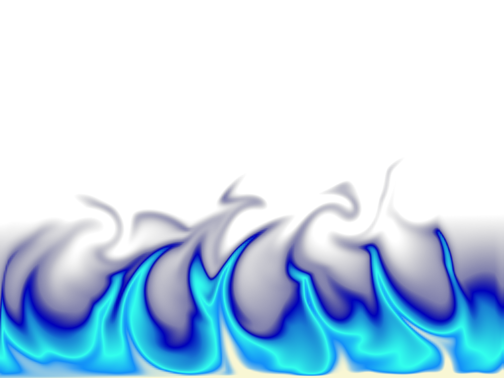 collection of flames. Fire clipart blue