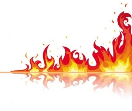 Flames clipart border. Clip art free images