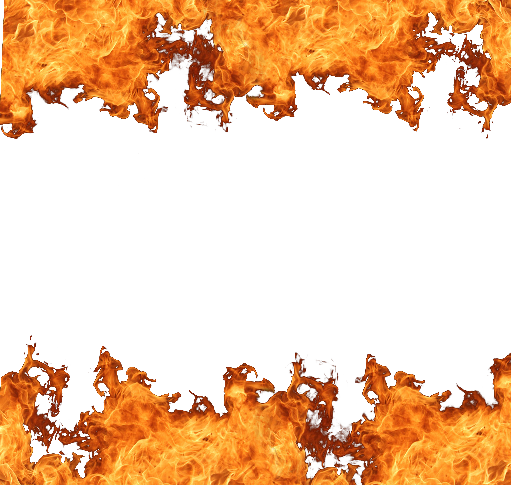 Fire border png. Flame ring of clip
