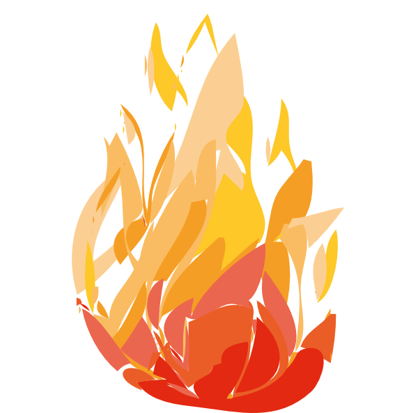 One clip art at. Clipart flames candle flame