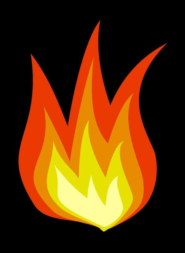 clipart flames emoji