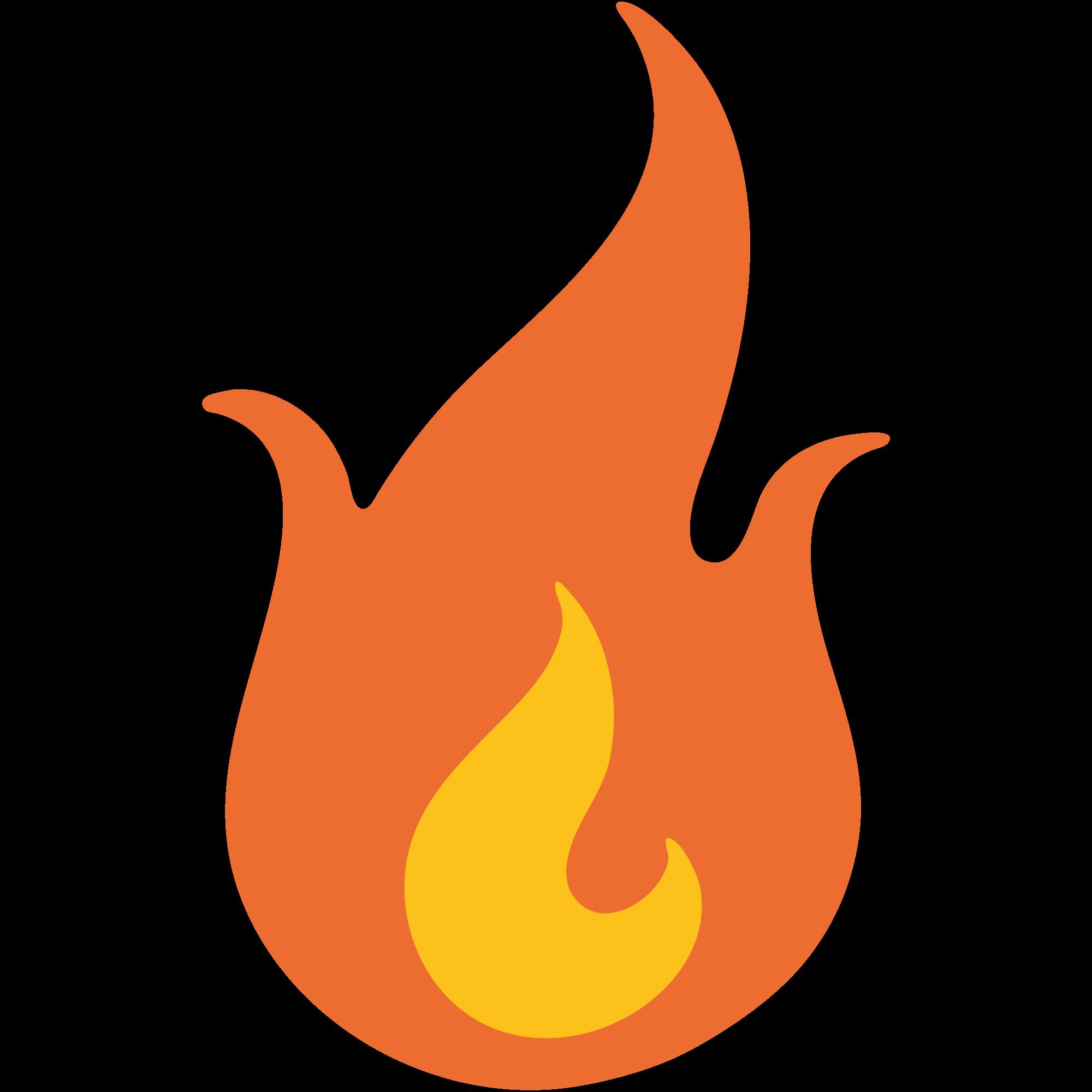 Clipart flames emoji. File u f svg
