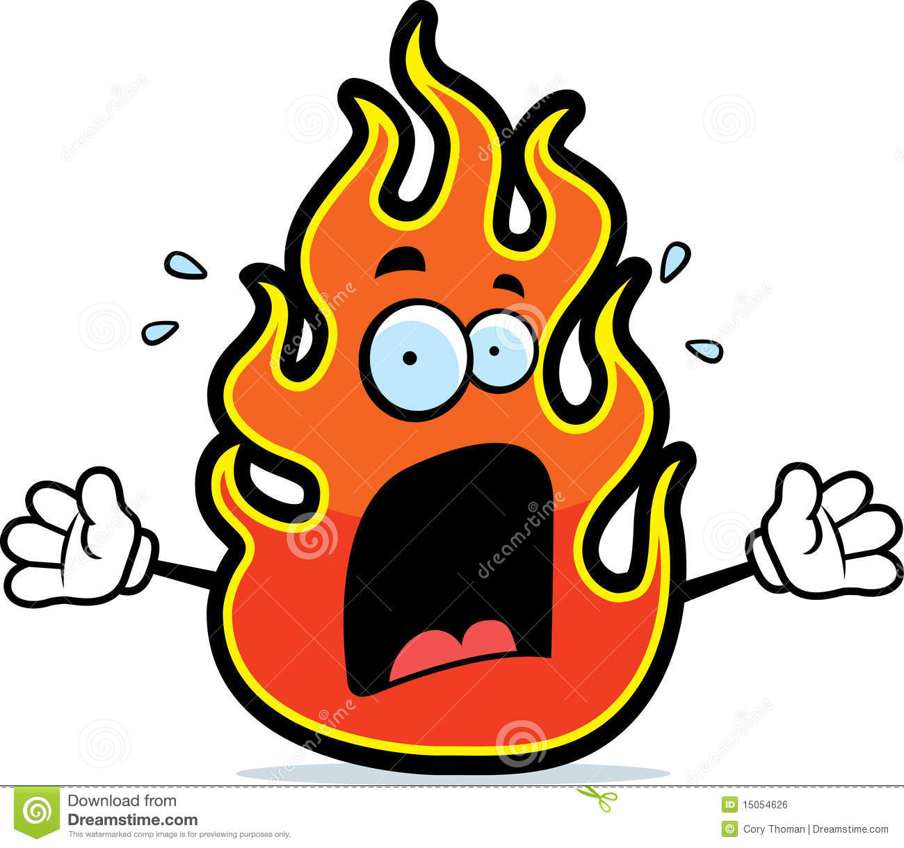 Clipart flames face. Fire flame cartoon panda