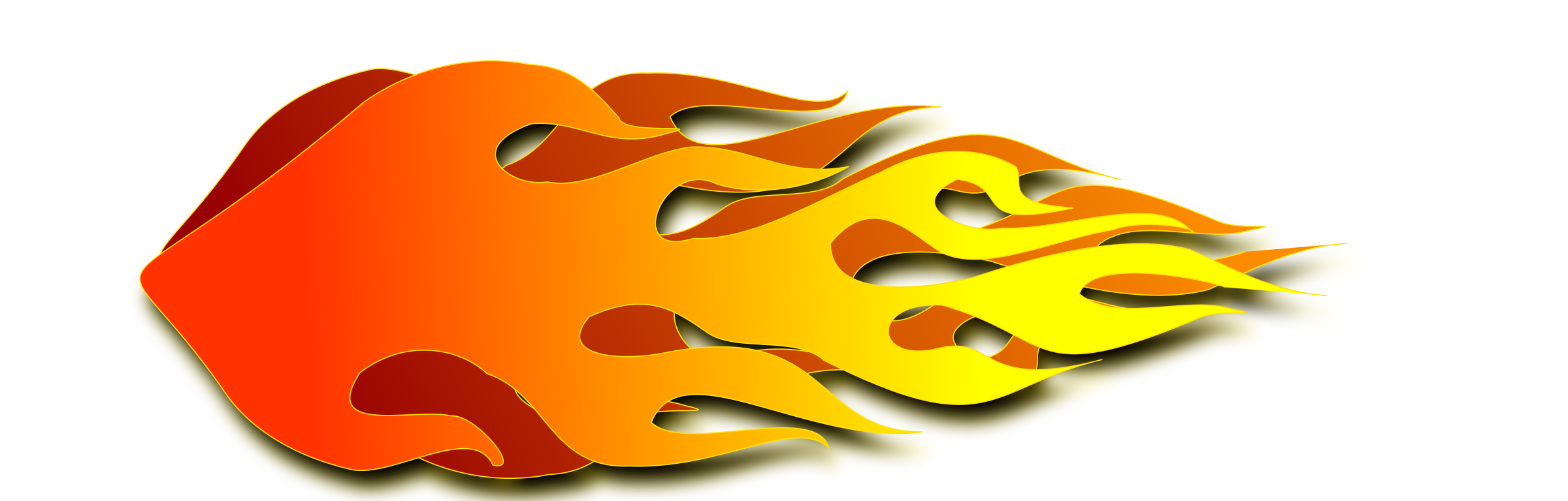 Clipart flames fire trail. Flame test cliparthot of