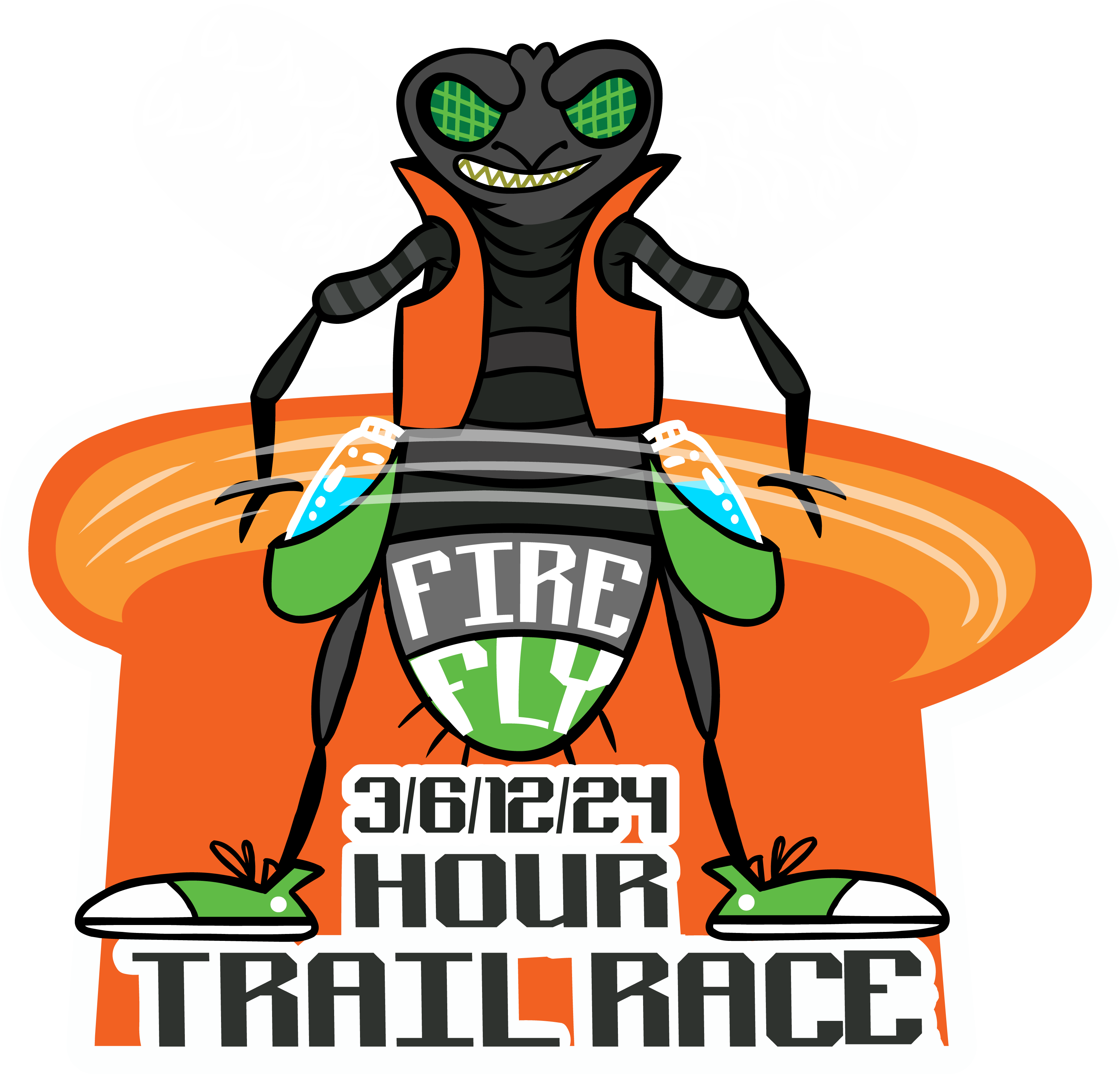 Fly hour race beavers. Clipart flames fire trail