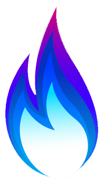 Natural flame images gallery. Clipart flames gas