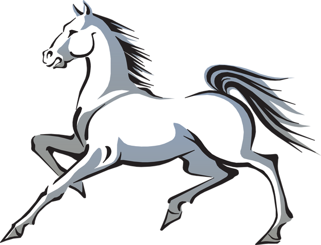 Welding clipart black and white. Free horse clip art