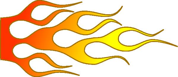 Racing flame d clip. Clipart flames hot rod