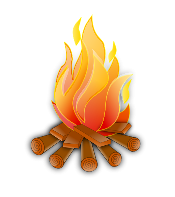 Fire clip art video. Heat clipart heat cramp