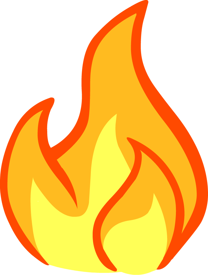 Image result for fire. Clipart flames paper