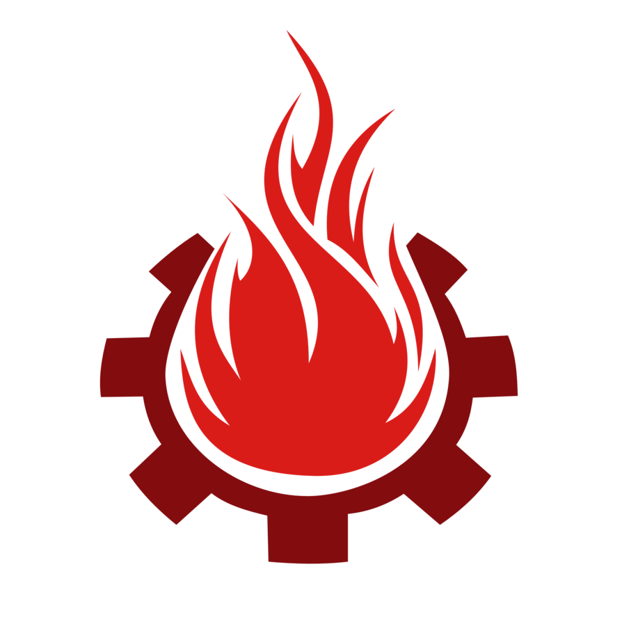 Fire symbol collection cartoon. Clipart flames racing