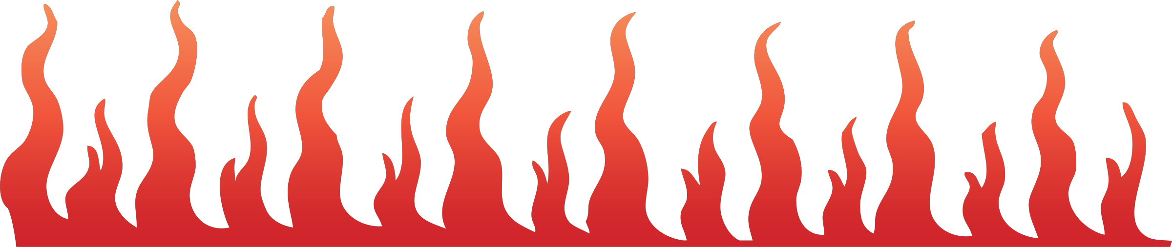 Line pencil and in. Clipart flames racing