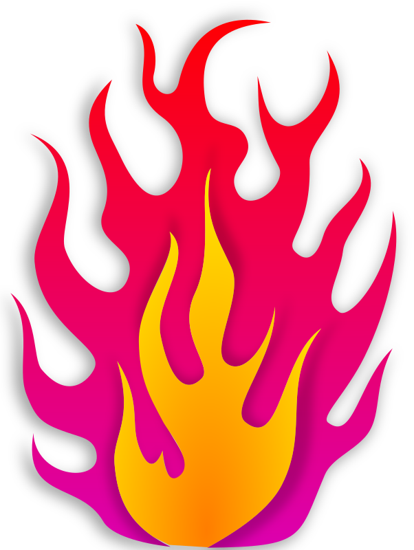 Clipart flames racing. Ford flame logo