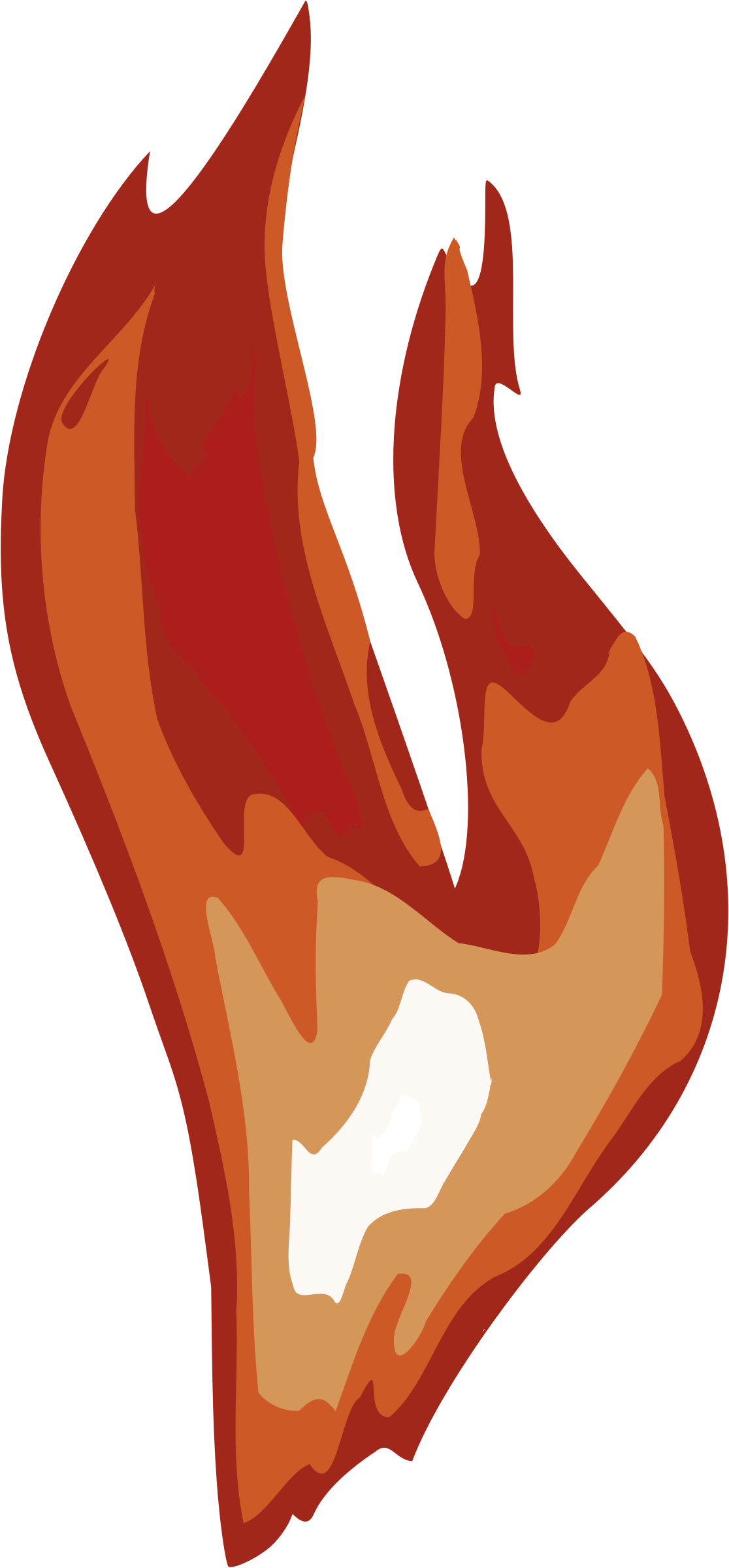 Flames clipart tongue. Flame small pencil and