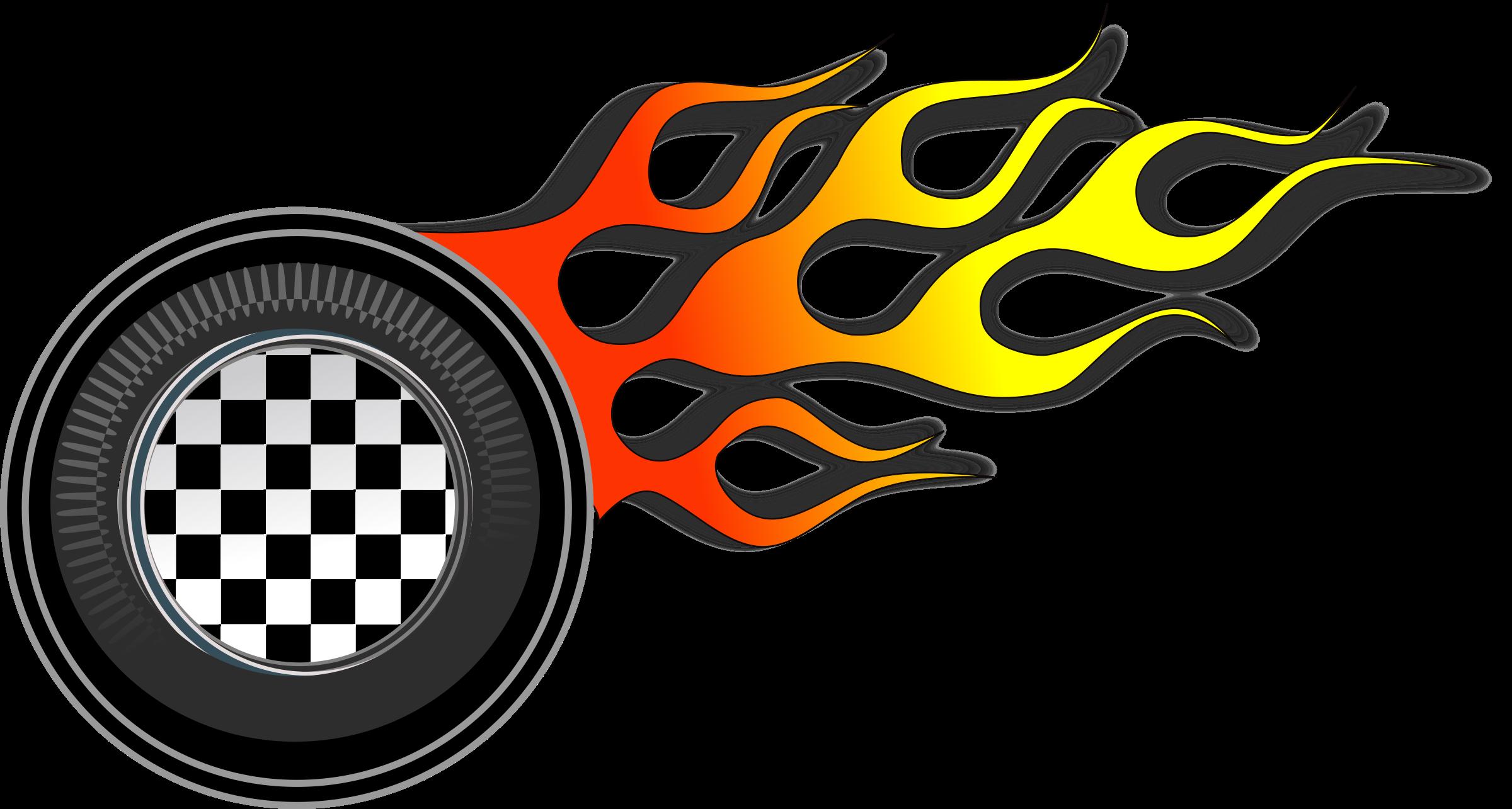 Wheel big image png. Clipart flames racing