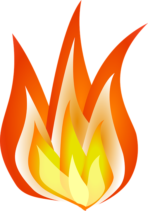 Collection of color cliparts. Clipart flames racing