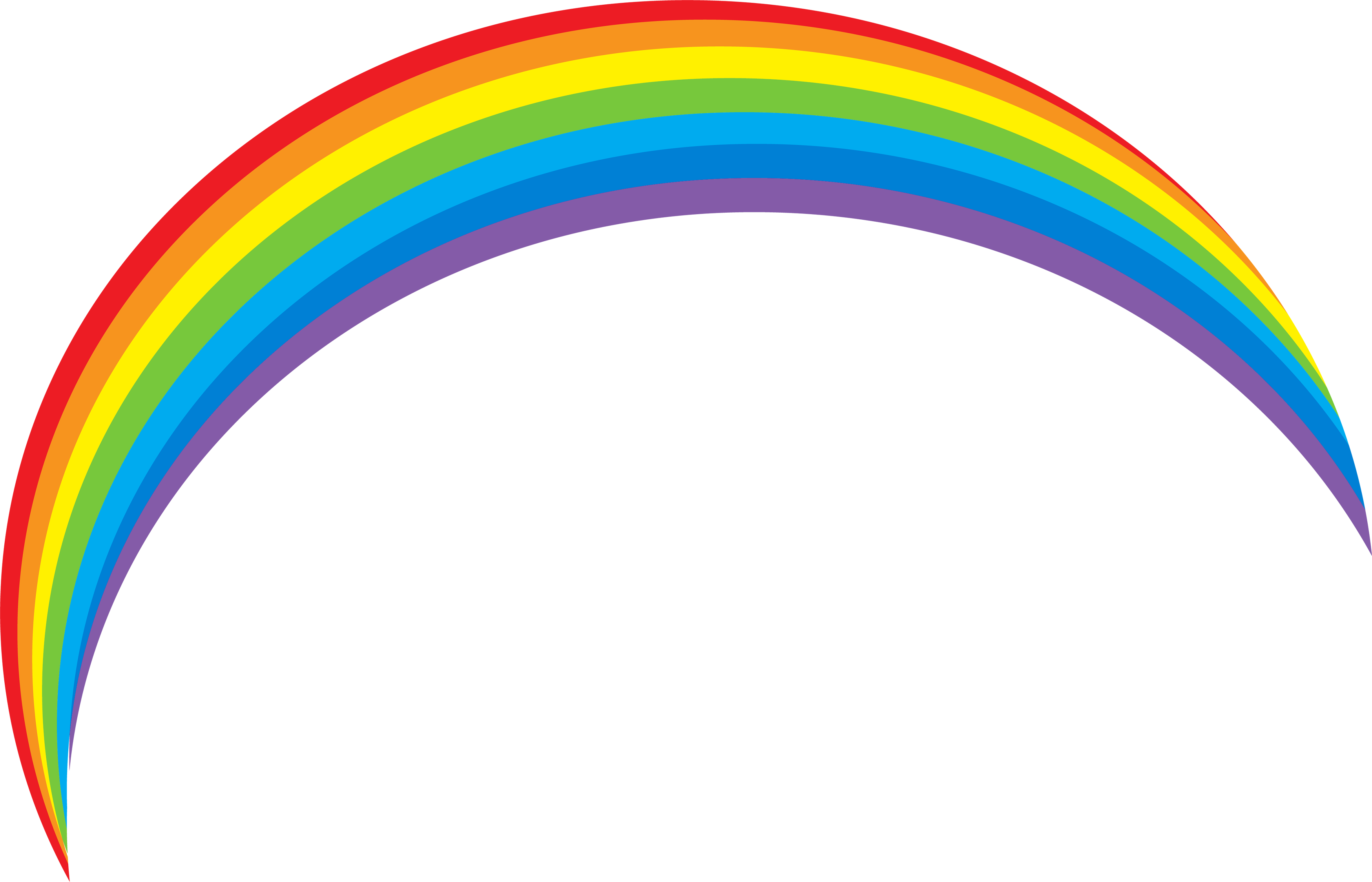 Sixteen isolated stock photo. Rainbow vector png