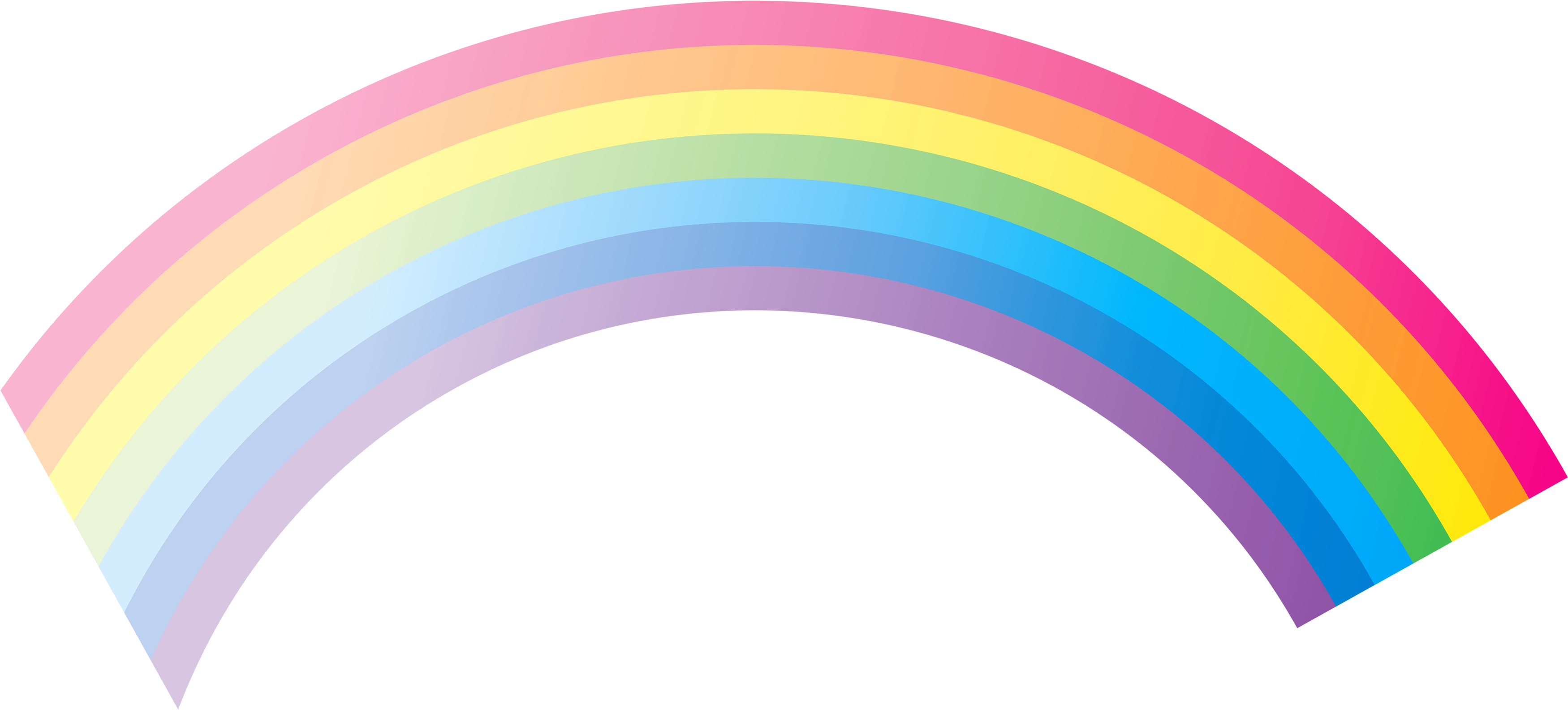Donuts clipart clear background. Rainbow seven isolated stock