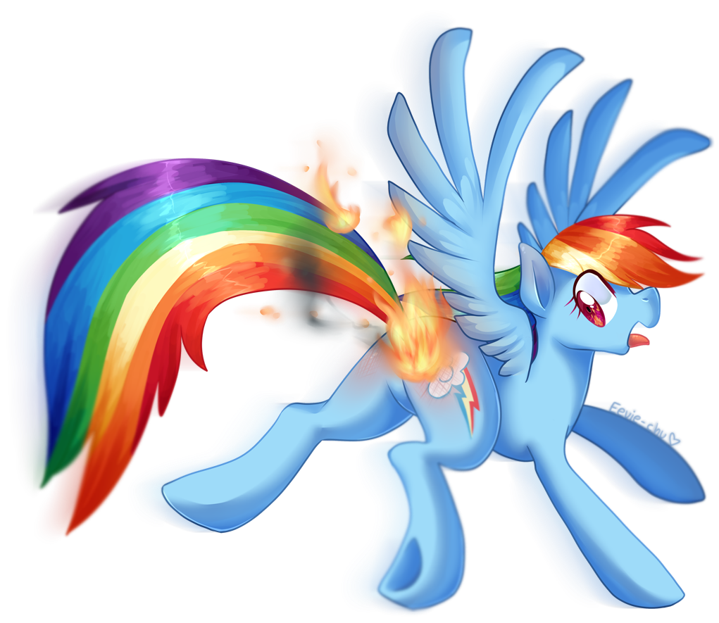 artist ambunny butt. Clipart flames rainbow