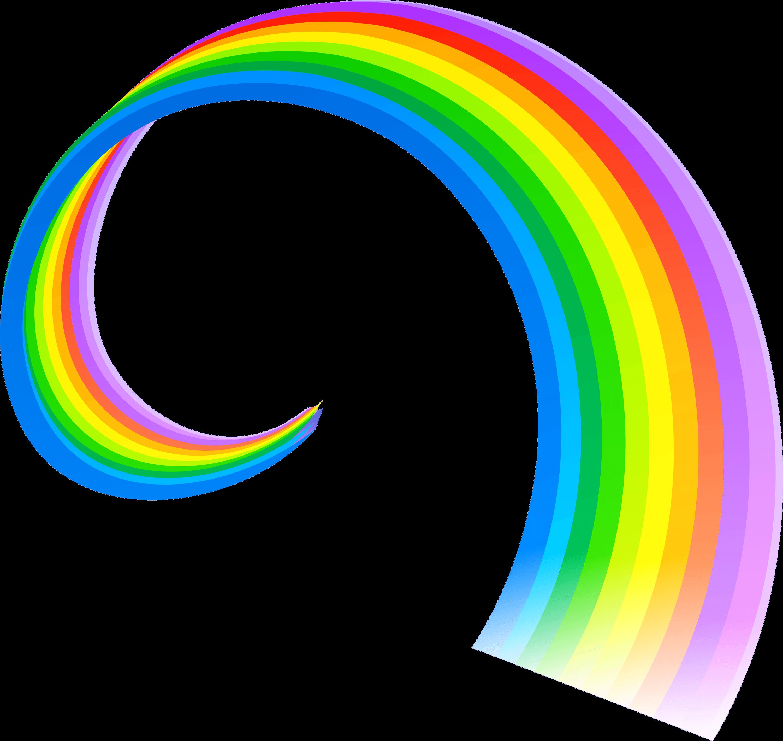 Spiral png stickpng nature. Clipart rainbow transparent background