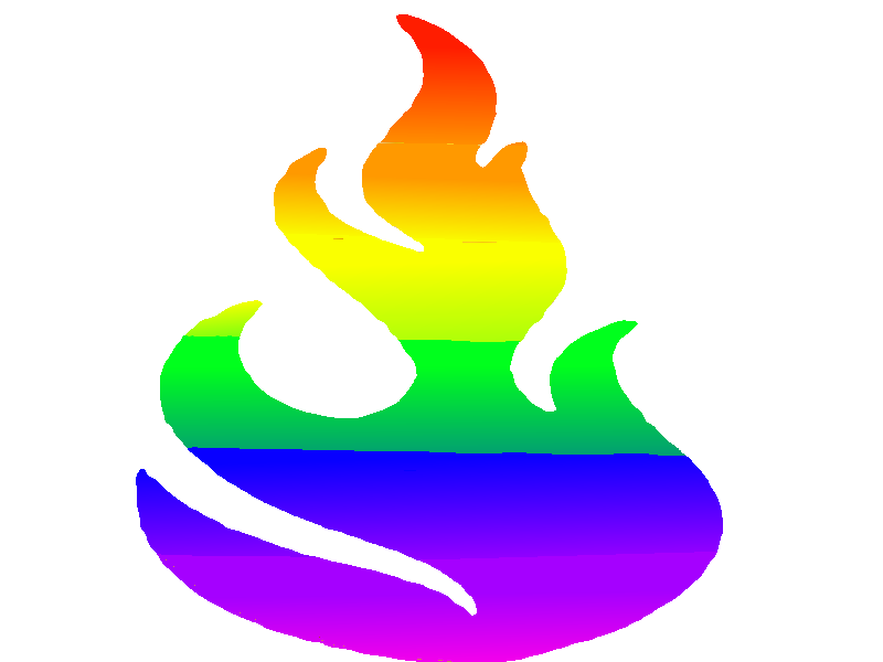 Clipart rainbow fire. Image png animal jam