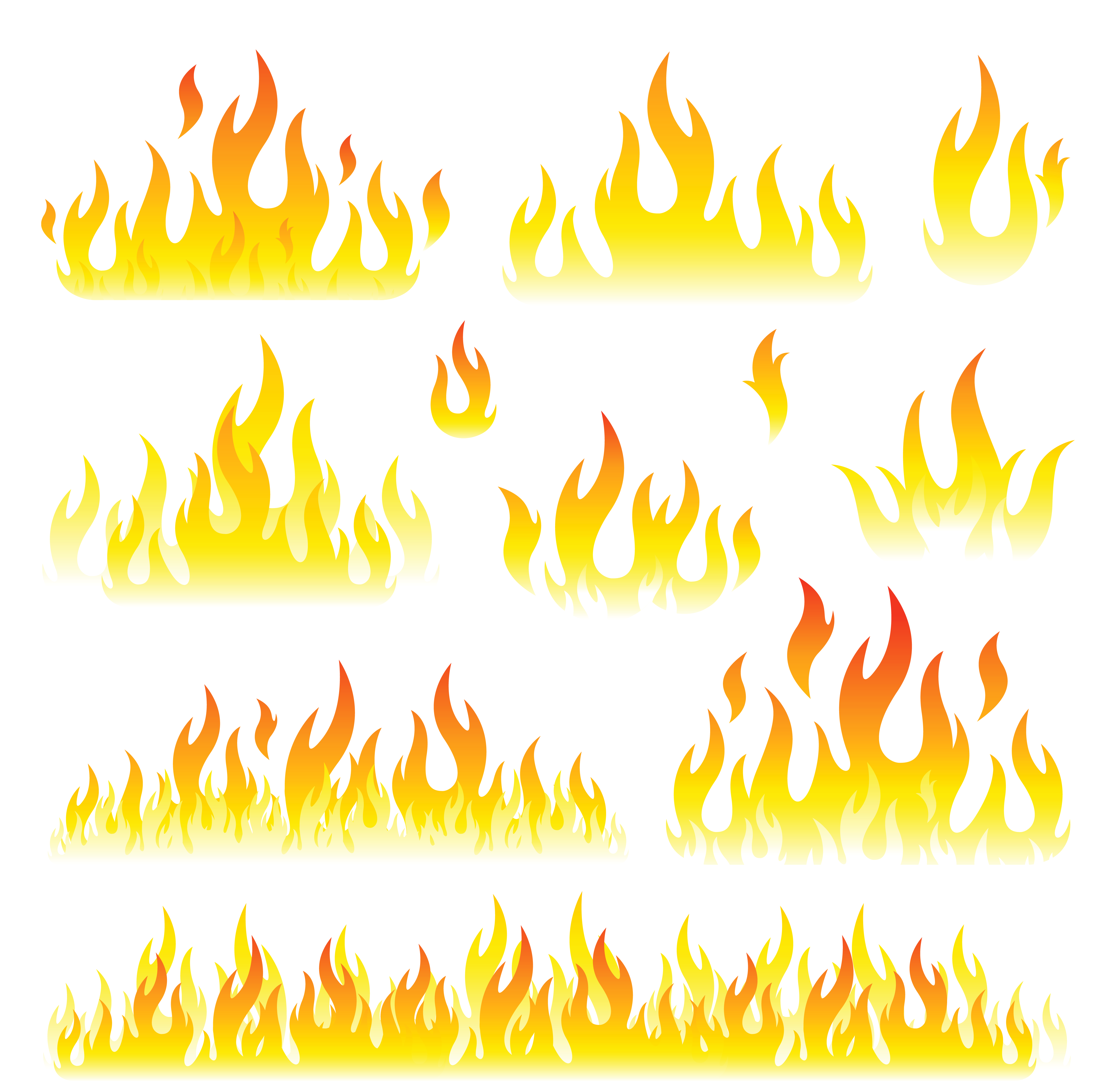 collection of images. Clipart flames royalty free