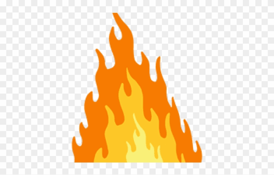 Flames png download . Flame clipart single flame