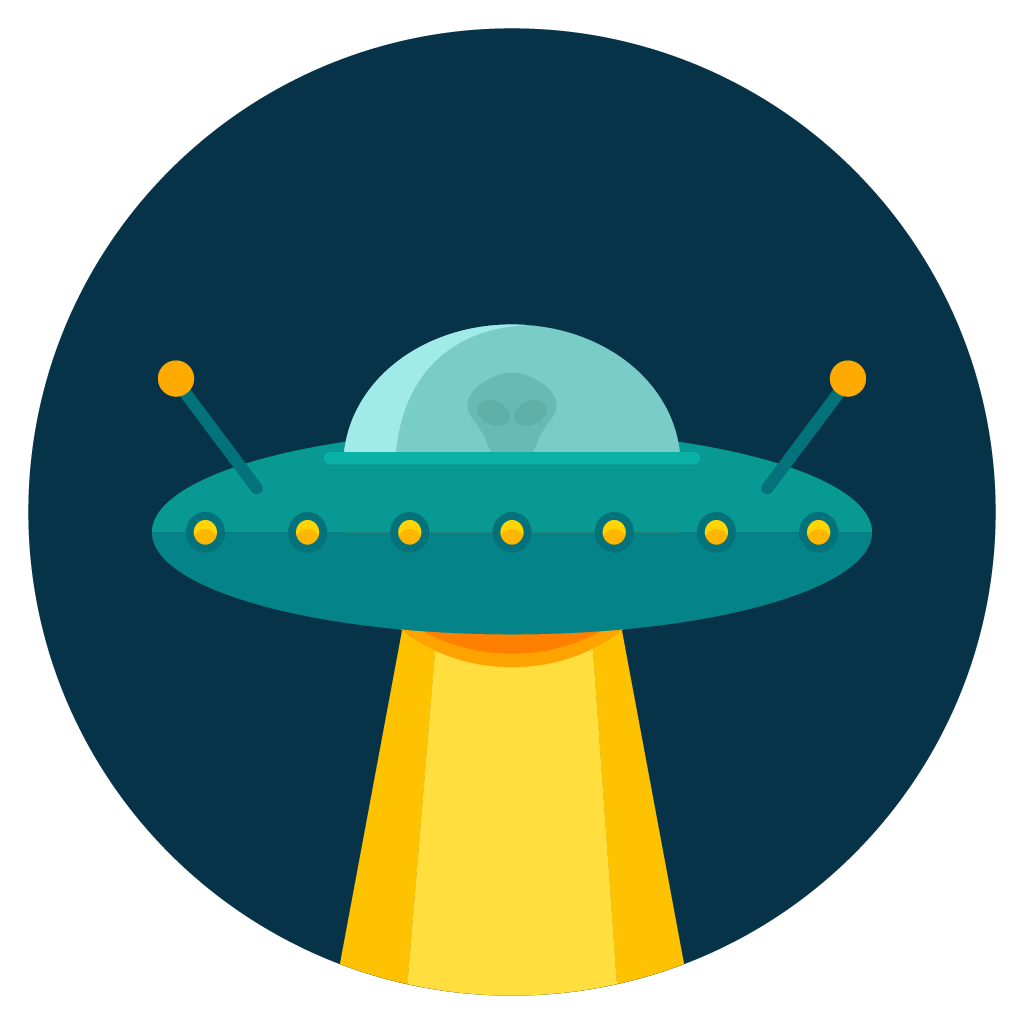 Spaceship clipart ufo abduction. Silhouette at getdrawings com