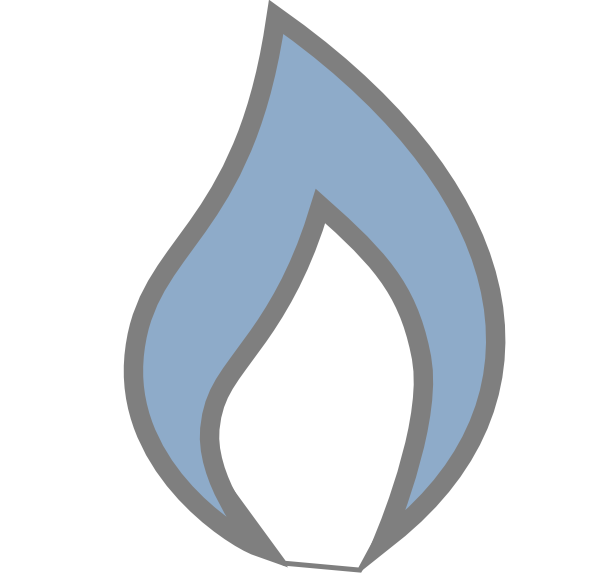 Fire clipart softball. New flame as square