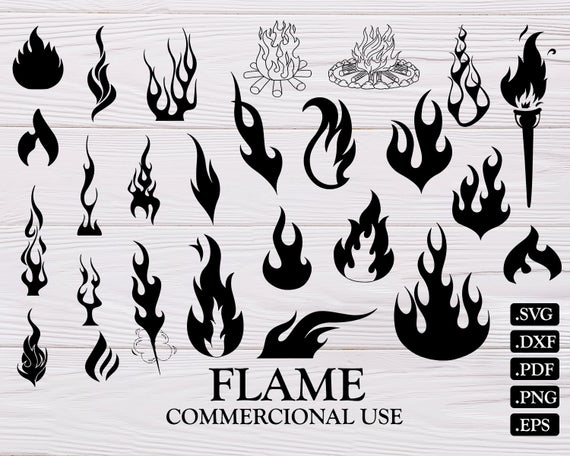Flames clipart svg. Flame fire files png