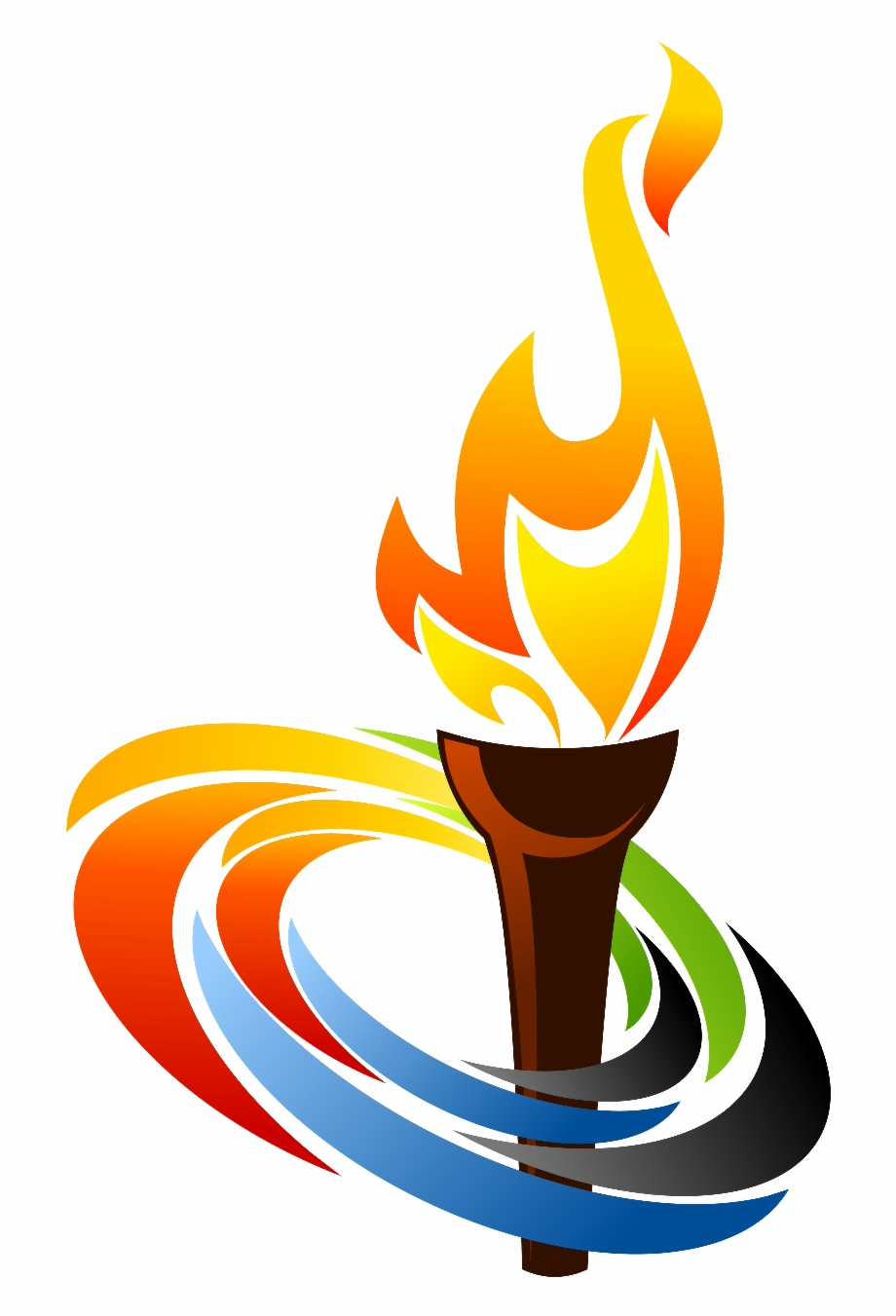 Olympic clipart lamp. Pics for torch flame