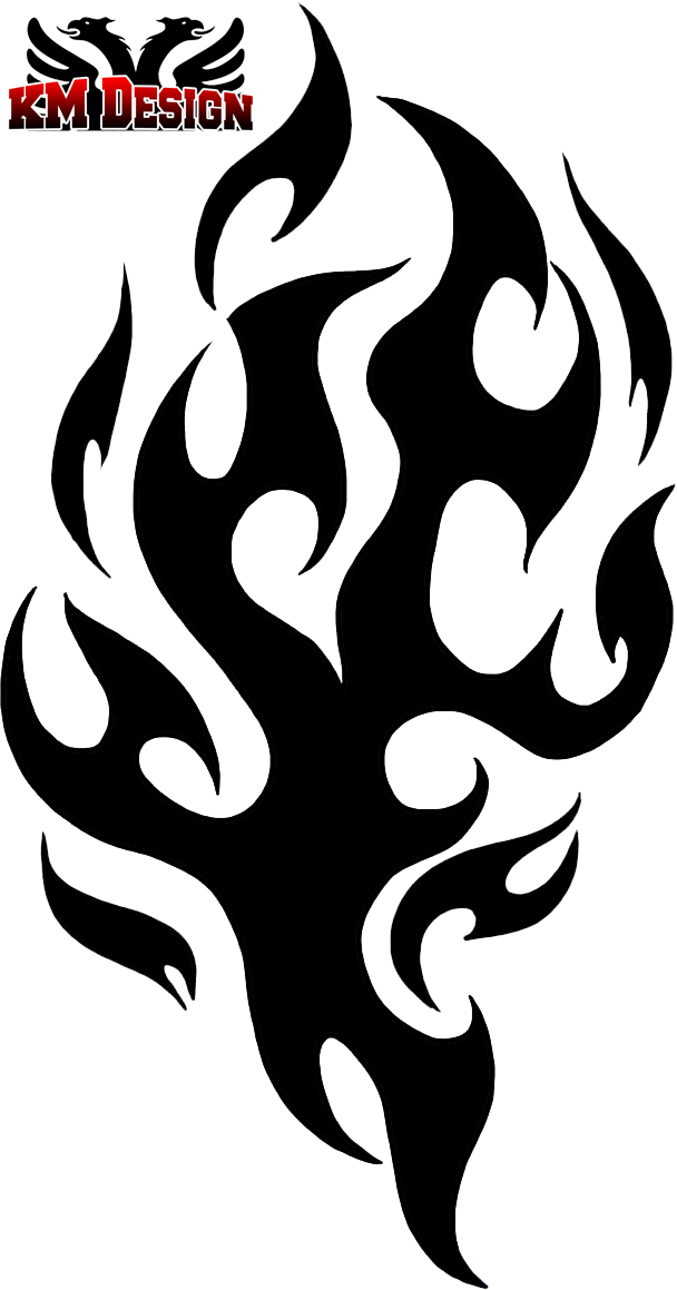 Clipart flames tribal. By baron on deviantart