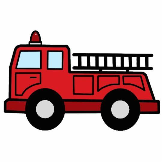 Cartoon clip art emergency. Firetruck clipart draw