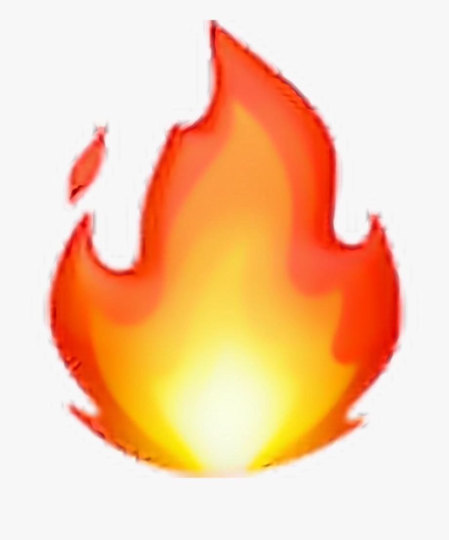 Flame clipart emoji. Fire flames tumblr transparent