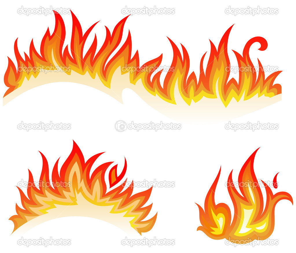 Clipart flames white background. Fire panda free