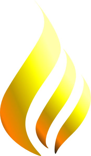 Flames clipart yellow flame. Clip art at clker