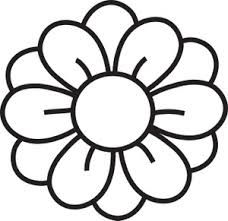 Google search stencils pinterest. Flower clipart