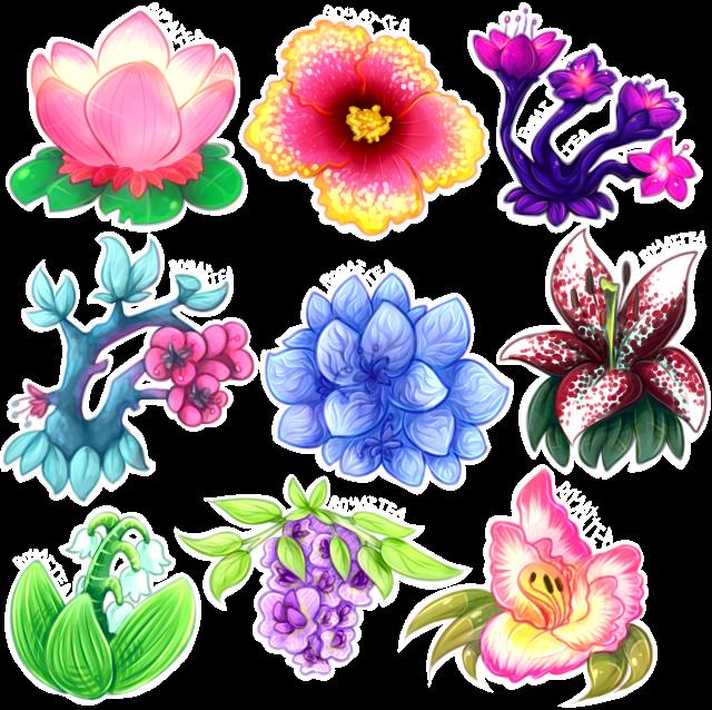 Plant frames illustrations hd. Clipart flower aesthetic
